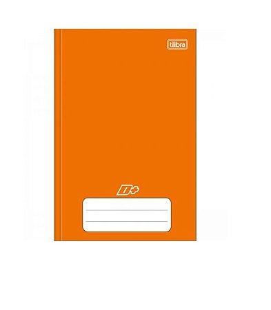 Caderno Universitário Brochura D+ Laranja 48 Folhas - Tilibra