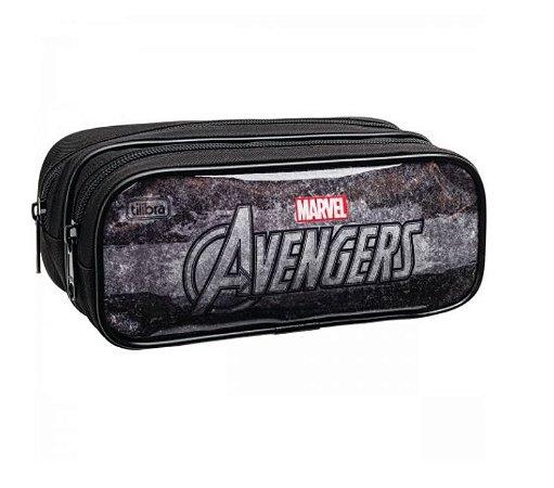 Estojo G Duplo Avengers - Tilibra