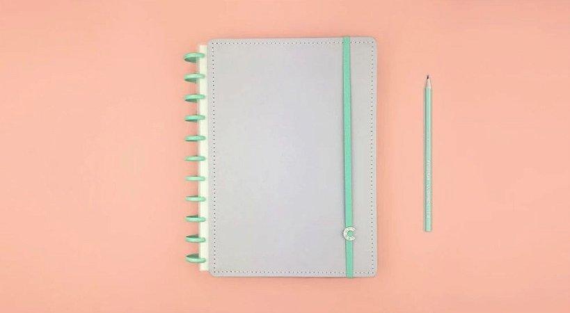 Caderno Lala Lilás Pastel G+ - Caderno Inteligente