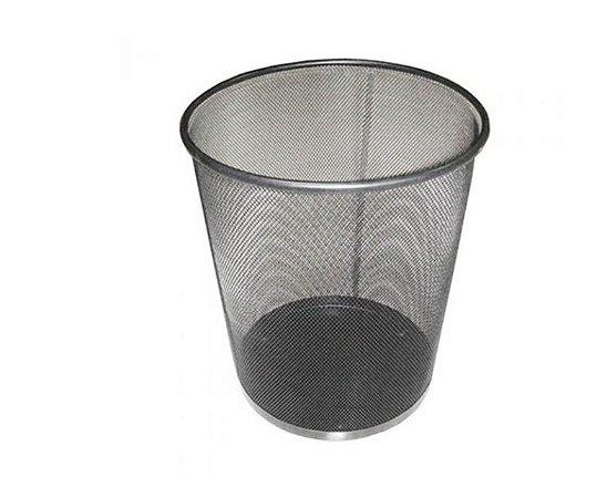 Lixeira Metal Preto - VMP