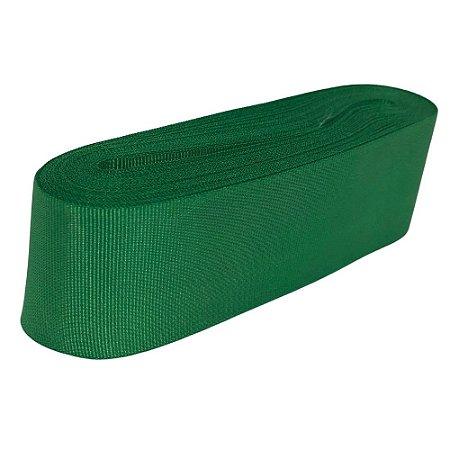 Fita Gorgurão Liso Verde Bandeira-Cromus