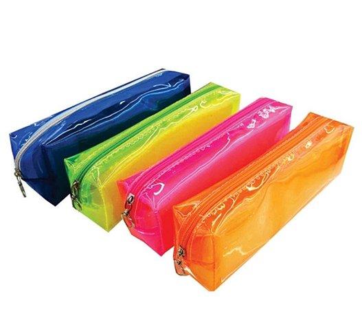 Estojo Color Transparente P Sortido - VMP