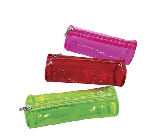 Estojo Color Transparente Redondo Sortidos - VMP