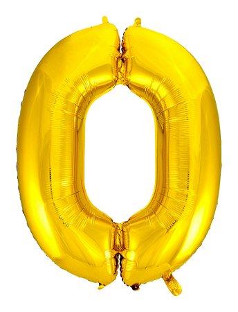 Balão Metalizado Ouro N° 0 - VMP