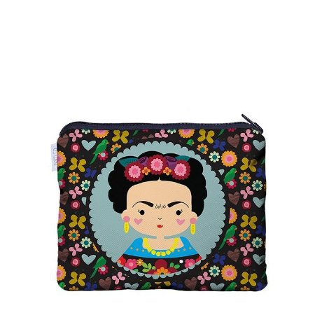 Necessaire Flat Frida M - Me Encanta Que Te Encante