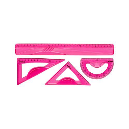 Conjunto Geométrico Rosa - Molin