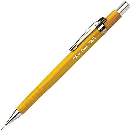 Lapiseira P209 Amarela 0,9 mm - Pentel