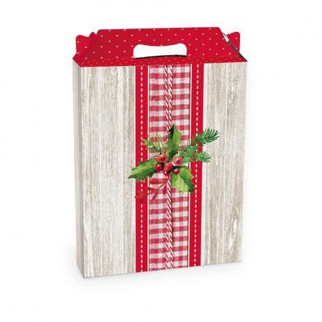 Caixa Maleta Ret Vert Tradição Natal P-Cromus