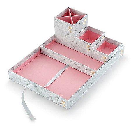 Bandeja Pink Mármore Stone Box In Box 01