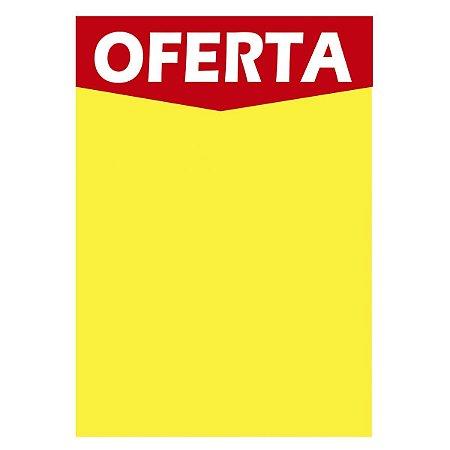 Cartaz Oferta Amarelo A3 250g 29x42cm  - Radex