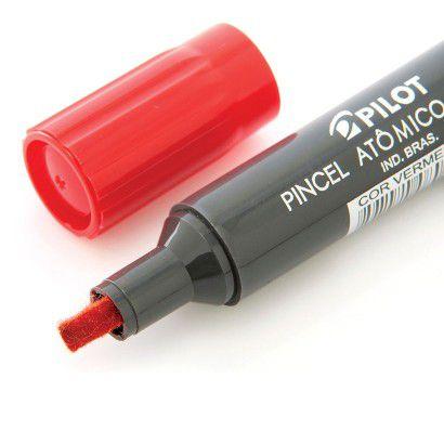 Pincel Marcador Atomico 1100p Vermelho Recarrrg. - Pilot
