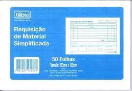 Requisição Material Simplificada 50f - Tilibra