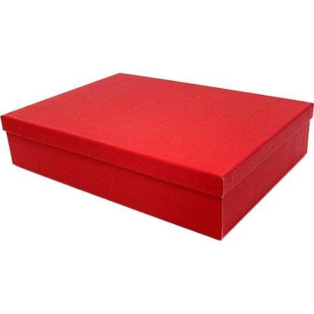 Caixa Para Presente Vermelha Nº3-cromus