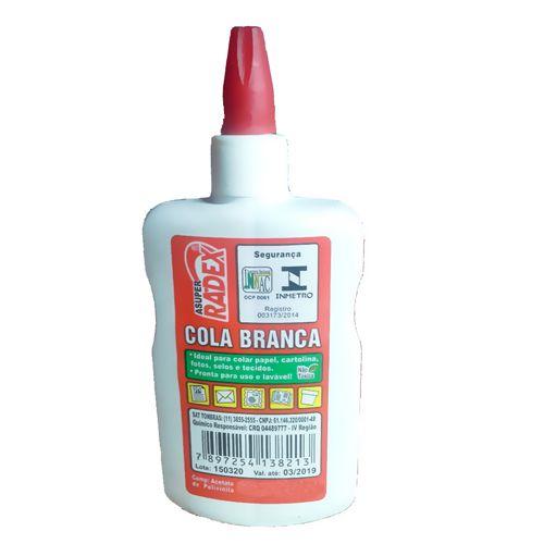 Cola Branca Asuper  40 Gramas - Radex