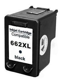 Cart Compativel C/ 662xl Pt Black 11 Ml
