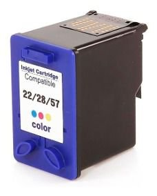 Cart Compativel C/ 22/28/57xl Pt Color 14 Ml