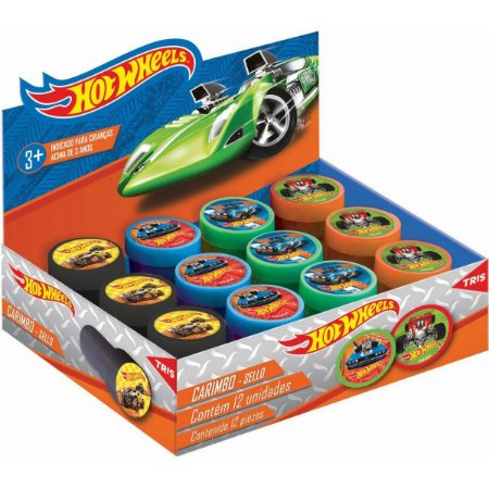 Carimbo Pedagogico Hot Wheels - Cis