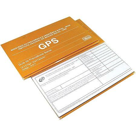 Impresso Previdência Social Carne Gps 12x2 Vias - Tilibra