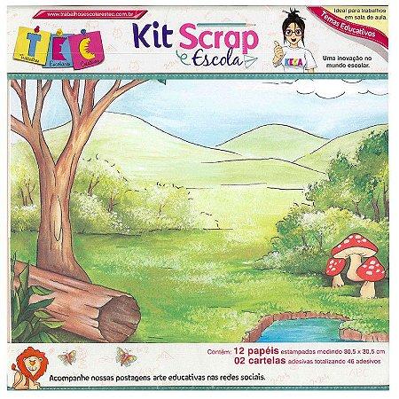 Kit Scrap Escola Materias Basicas