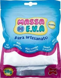 Massa De Eva Branco 50g - Make+