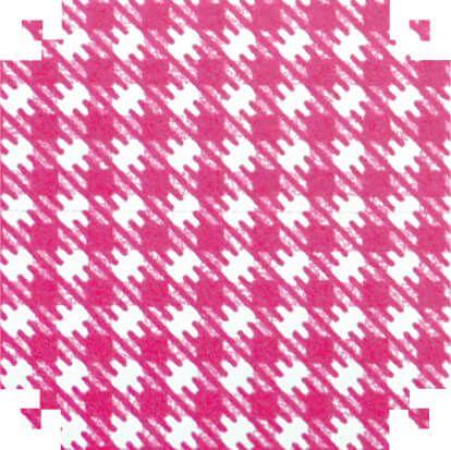 Colorset Xadrez Pink 48x66 - Vmp