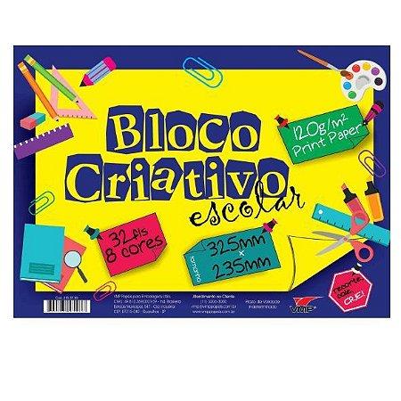 Bloco Criativo 8 Cores - Vmp