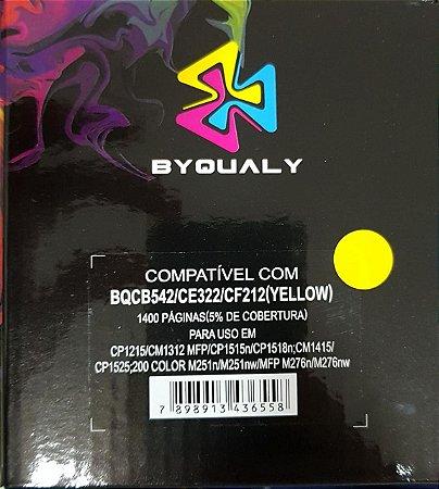 Cart De Toner Compativel C/ 542a/322a/212a 1,4k Byqualy