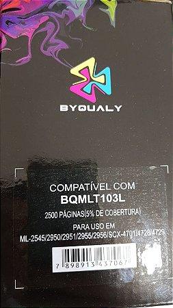 Cart De Toner Compativel C/ Mlt103l Ml-2950/Ml-2951/Ml-2955 2.5k Byqualy