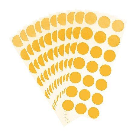 Etiqueta Redonda Ouro - Grespan