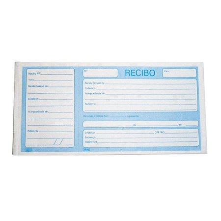 Recibo Comercial Com Canhoto - Tilibra