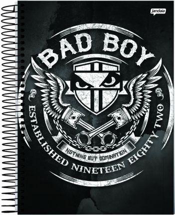 Caderno  Bad Boy15 M - JANDAIA
