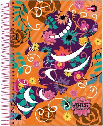 Caderno Espiral 10m Alice - JANDAIA