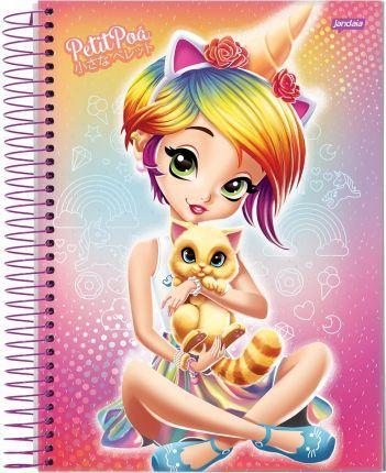 Caderno Petit Poá 1M - Jandaia