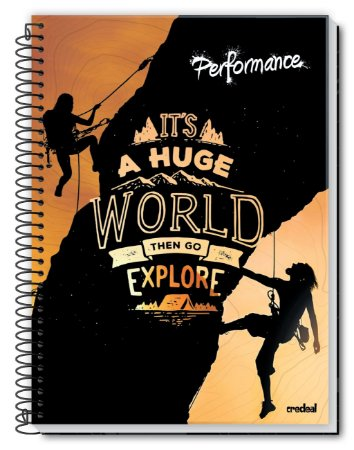 Caderno Performance 10M - Credeal