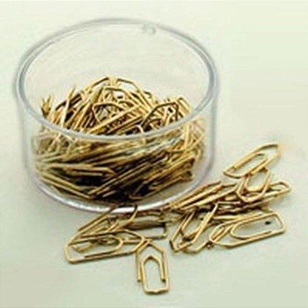 Clips Mini N°5 C/ 100 Un. Dourado - ACC