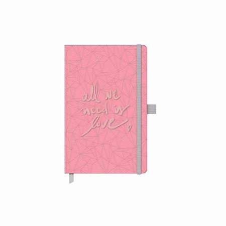 Caderno Papertalk Pink Stone Maxi Pontilhado Gm - Otima