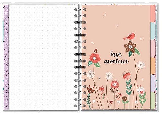 Planner Permanente M Beija-flor- Fina Ideia