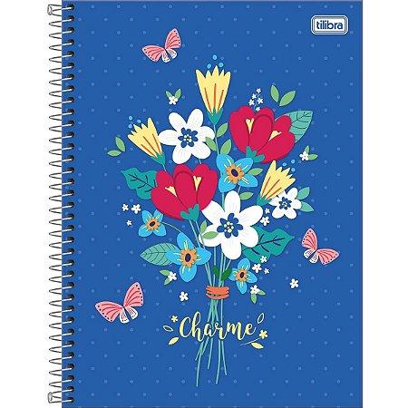 Caderno Universitário 20 Máterias 320 folhas Charme-Tilibra