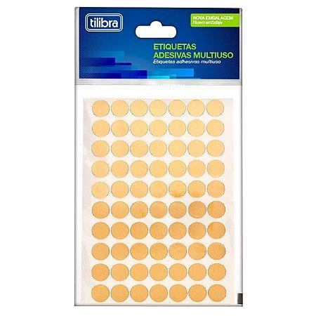 Etiqueta Multiuso Ouro 19mm - Tilibra