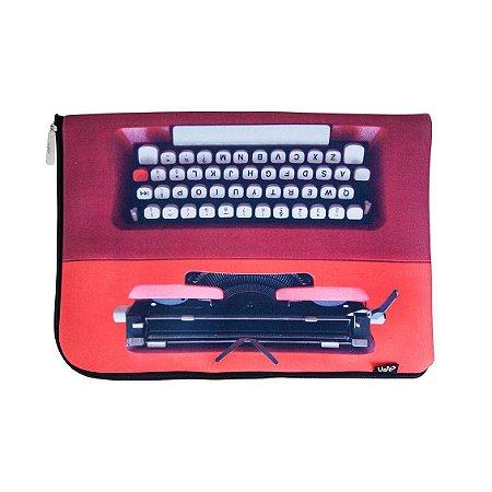 Capa Notebook Máquina De Escrever - Uatt