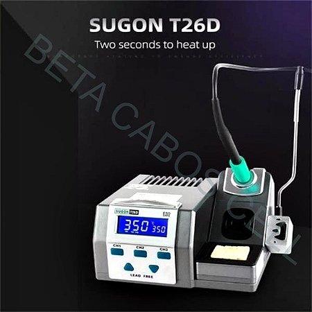 Estação de Solda Sugon T26D Profissional Bga 220V