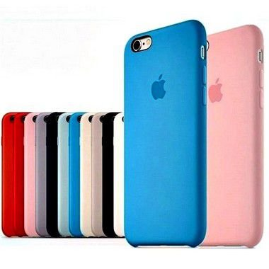 Capa Case Silicone Aveludado Iphone 6 Cores Sortidas