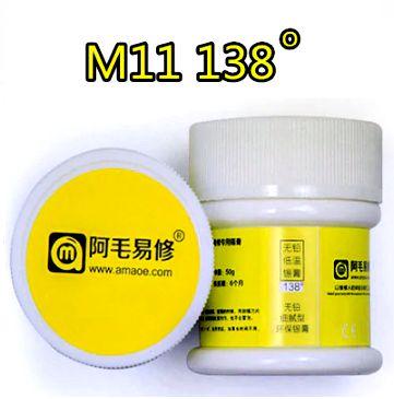 Solda Pasta Amaoe M11 138 graus Alta Qualidade