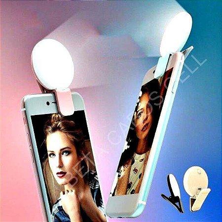 Mini Ring Selfie Light Luz De Self Para O Celular