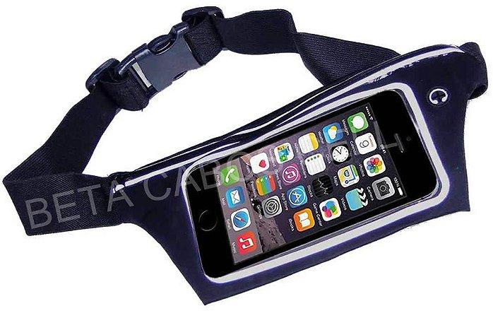 Pochete Cinto Para Celular Com Porta Chave