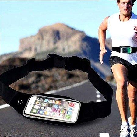 Pochete Suporte Cinto Corrida Fitness Porta Celular Objetos Chaves