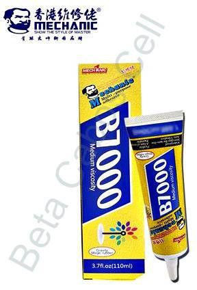 Cola Adesiva Multiuso Mechanic B 7000 B7000 110ml  Transparente