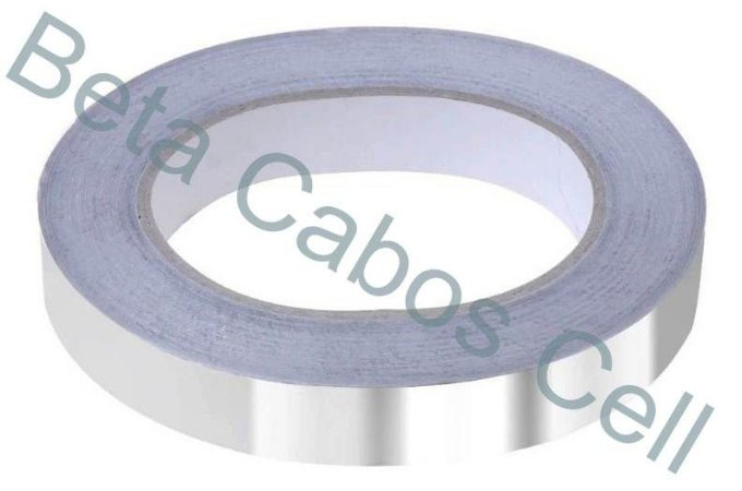 Fita de Alumínio Adesiva para Retrabalho 10mm