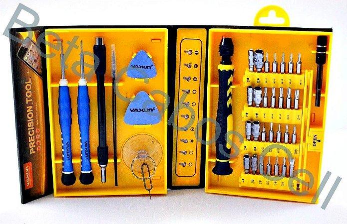 Kit Chaves Yaxun Ferramentas Celular Tablet Notebook Relogio YX 6028B YX-6028b -B YX 6028