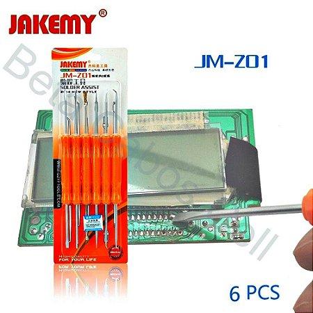 Kit Apoio Para Estação Retrabalho Jakemy Jm-Z01 Z 01 -B